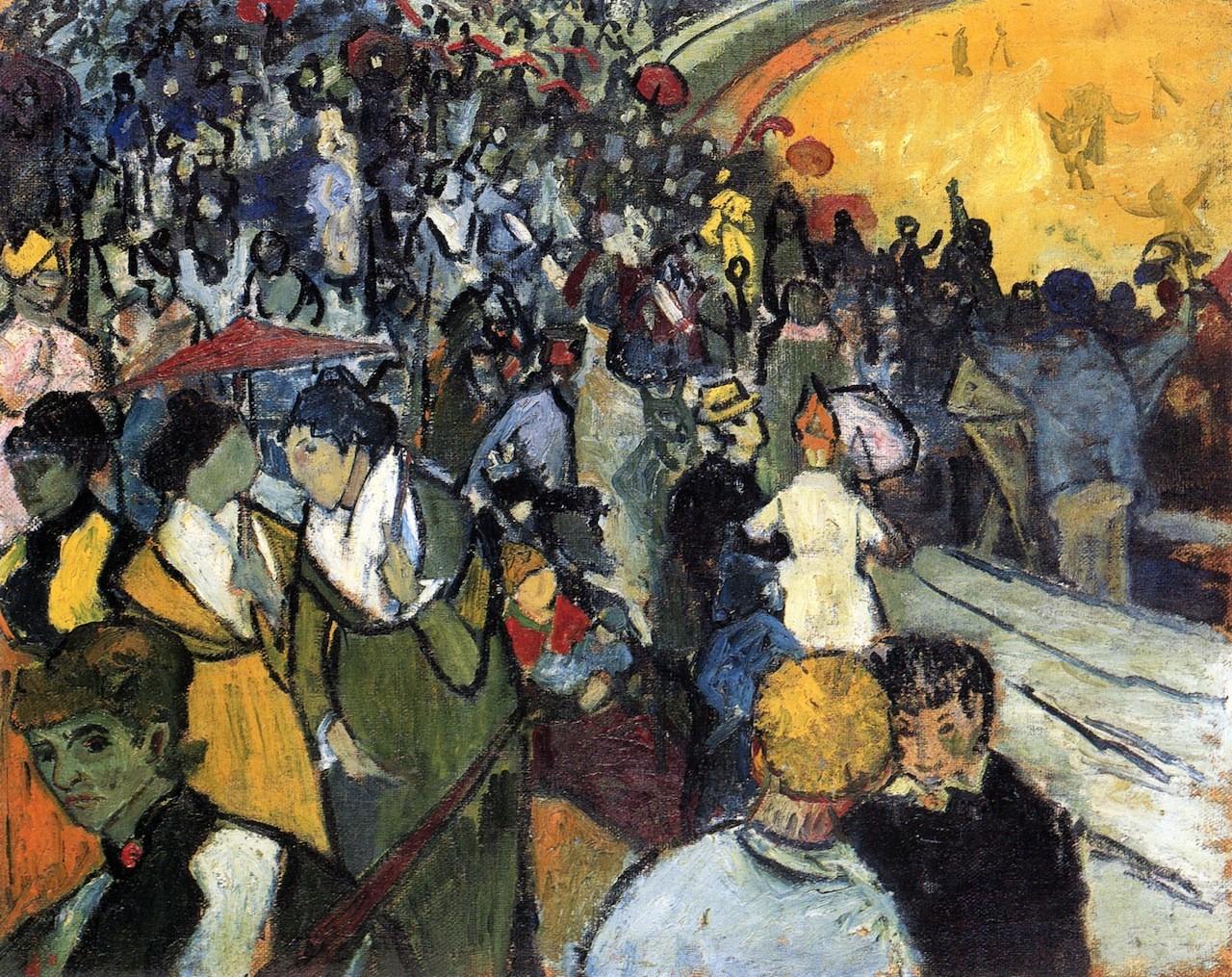 Arena at Arles, 1888 Vincent van Gogh